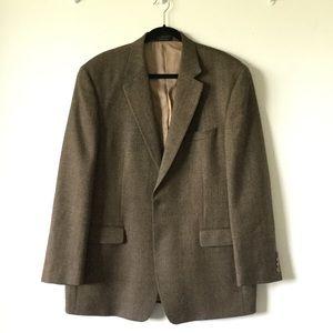 Ralph Lauren Sz 46 L 100% Lamb Wool Two Buttons